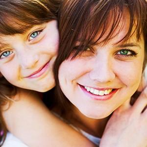 Mom & daughter wigs PK Walsh