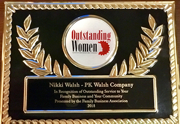 Nikki WalshOustanding Women 2018